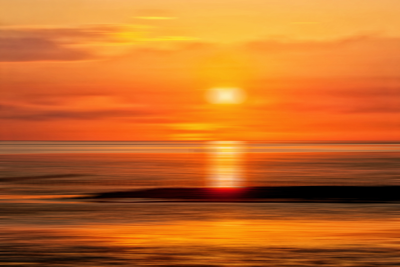 North Sea Sunset (2012)