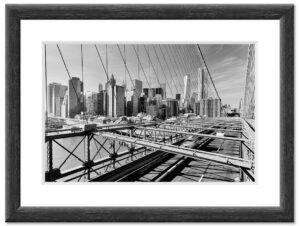 Brooklyn Bridge (2014) BW Rahmen
