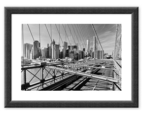 Brooklyn Bridge (2014) BW Rahmen thumbnail