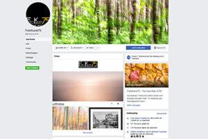 Facebook Fanpage - FotoKunst75