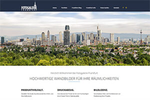 Fotogalerie Frankfurt Website